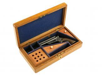 A Cased Sharps & Hankins Pistol, Model 3A.