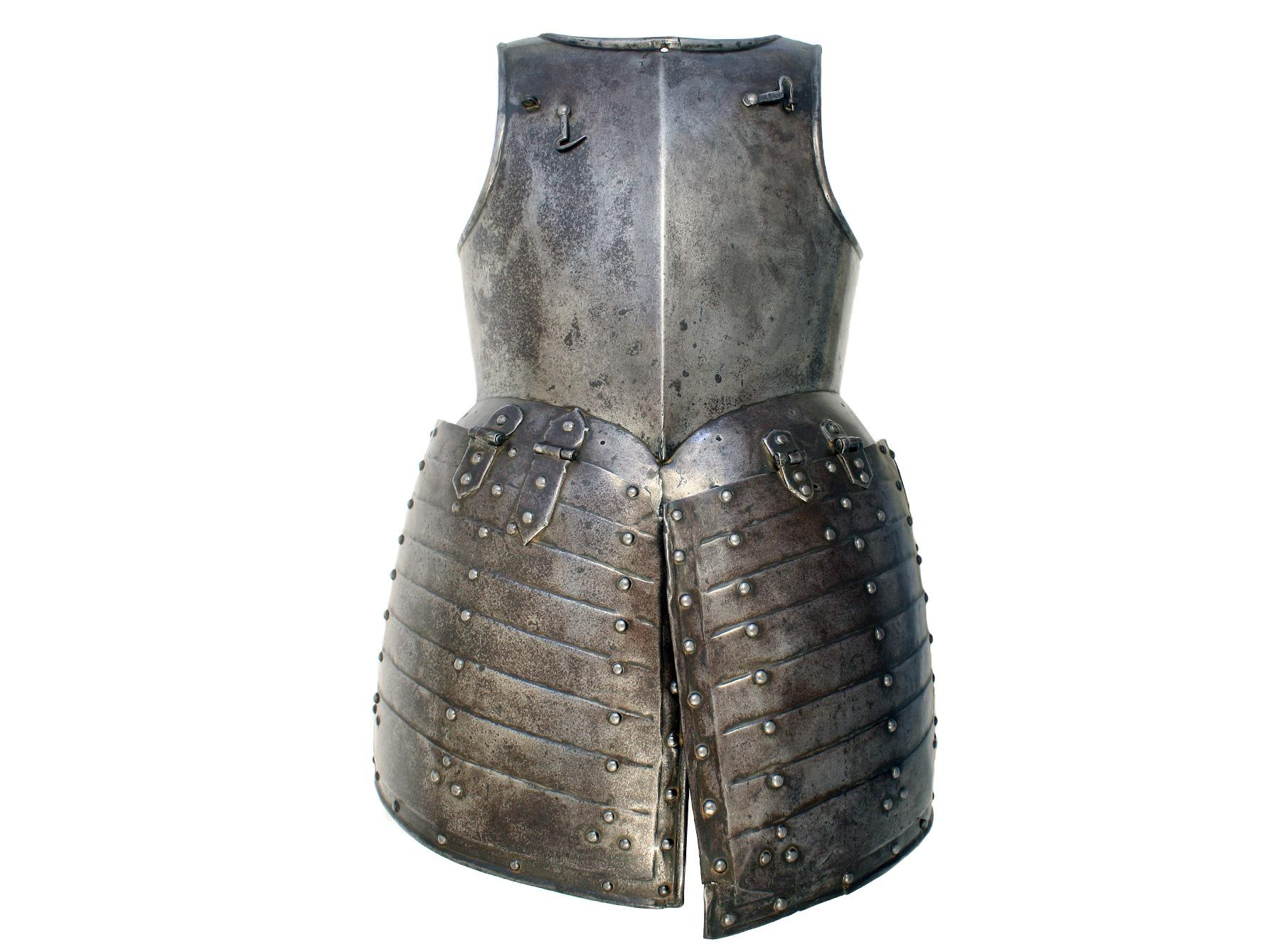 An English Pikemans Breastplate and Tassets