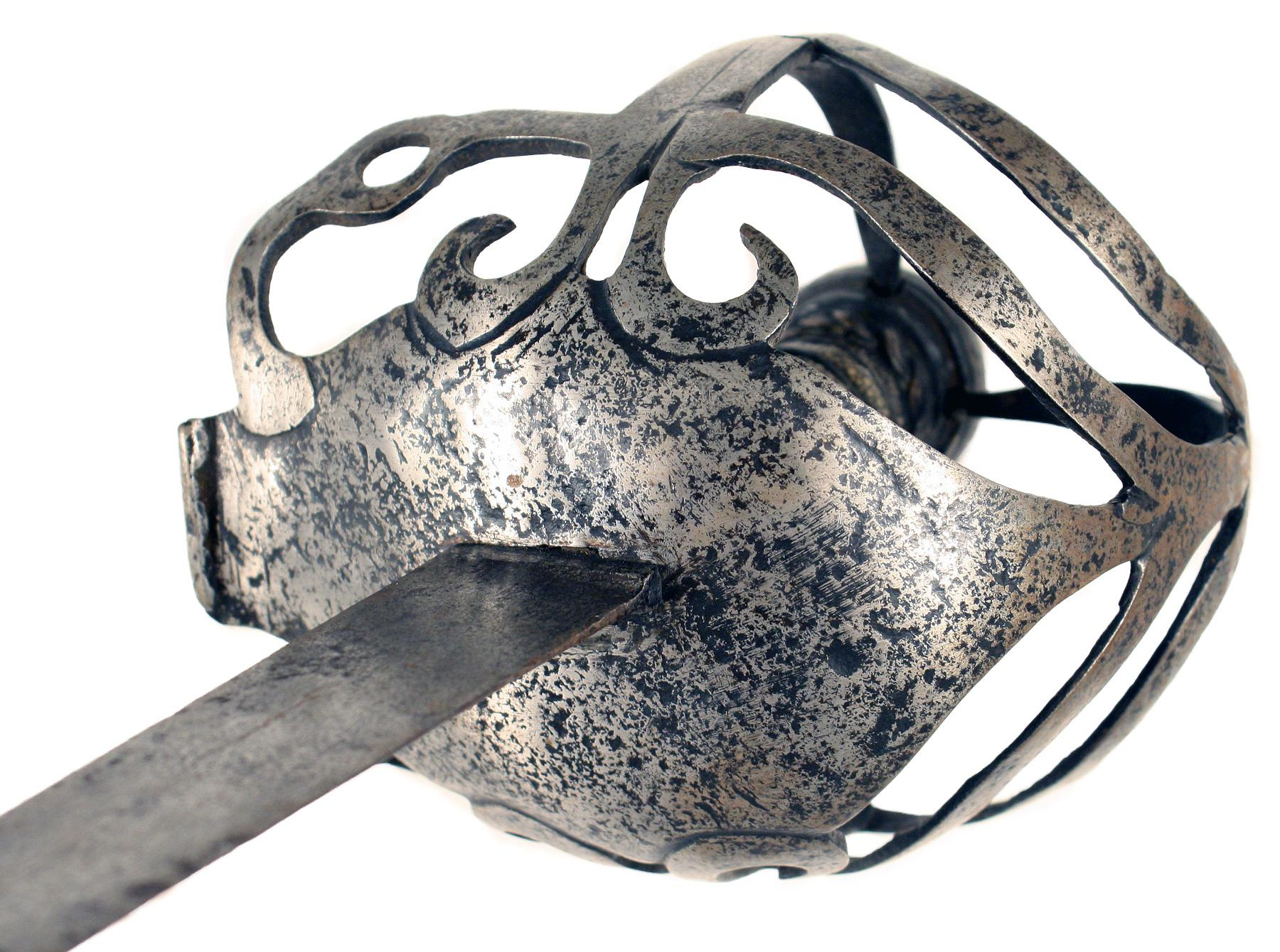 A Mortuary Hilted Back-Sword