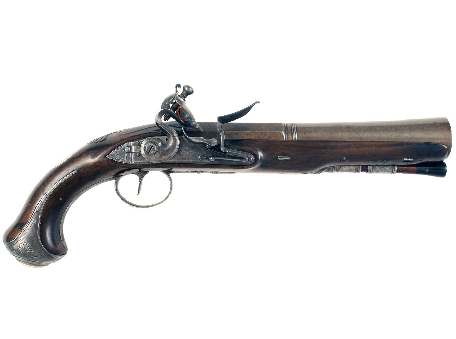 A Superb Blunderbuss Pistol by Mortimer