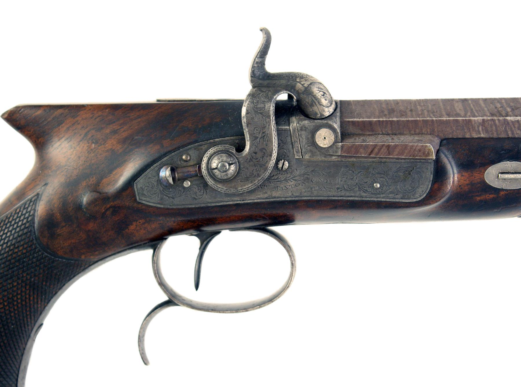 A Manton Duelling Pistol