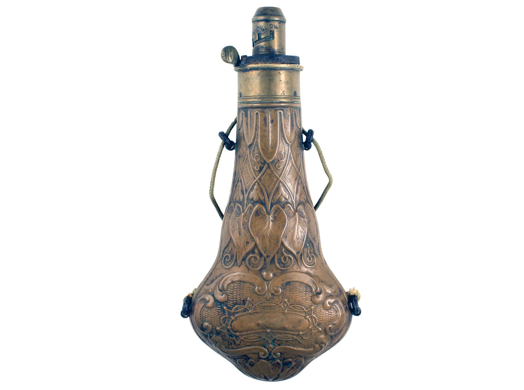 A Violin-Shaped Powder Flask