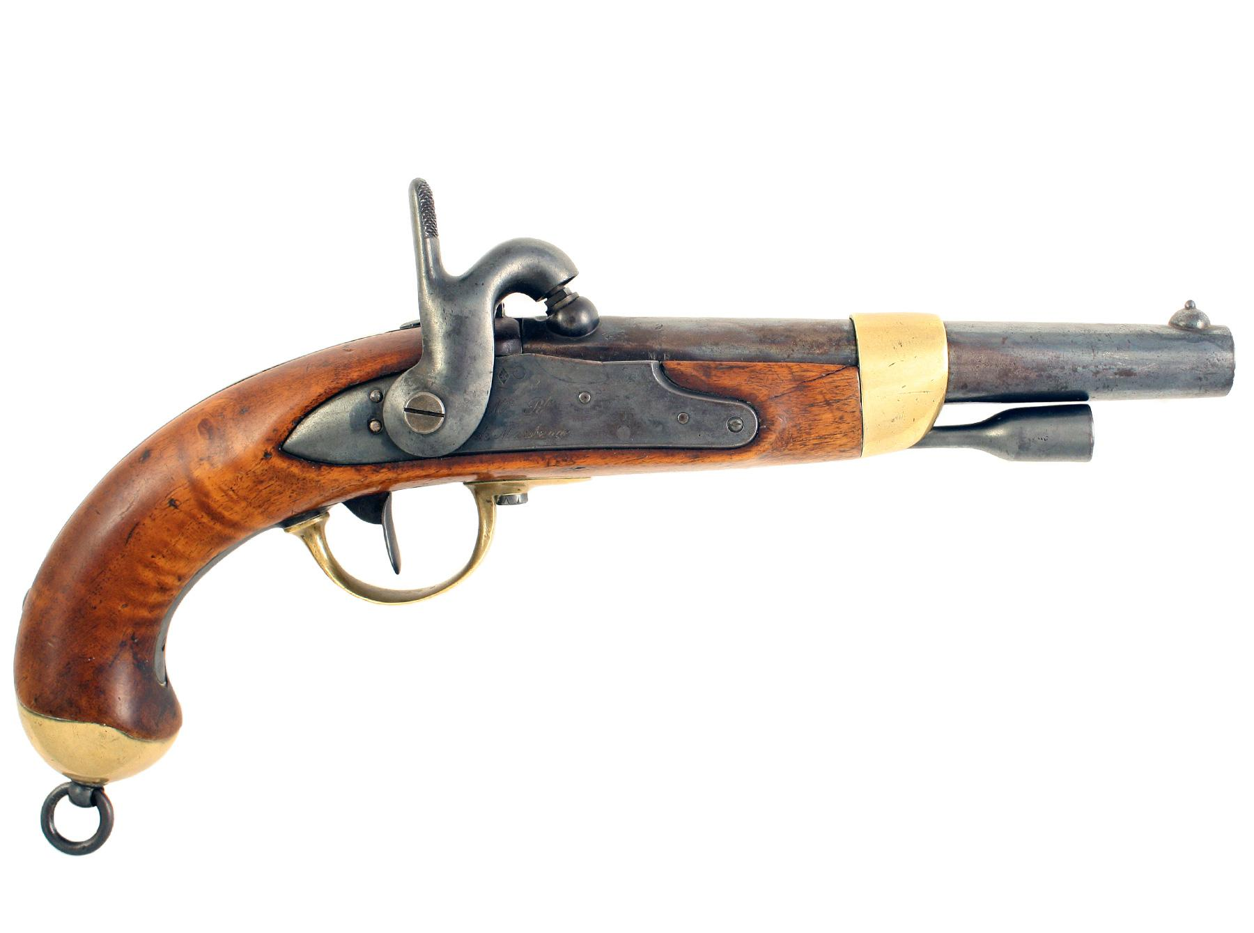 A French 1822 Model Pistol