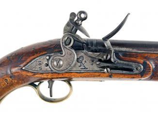A Good EIC Flintlock Pistol