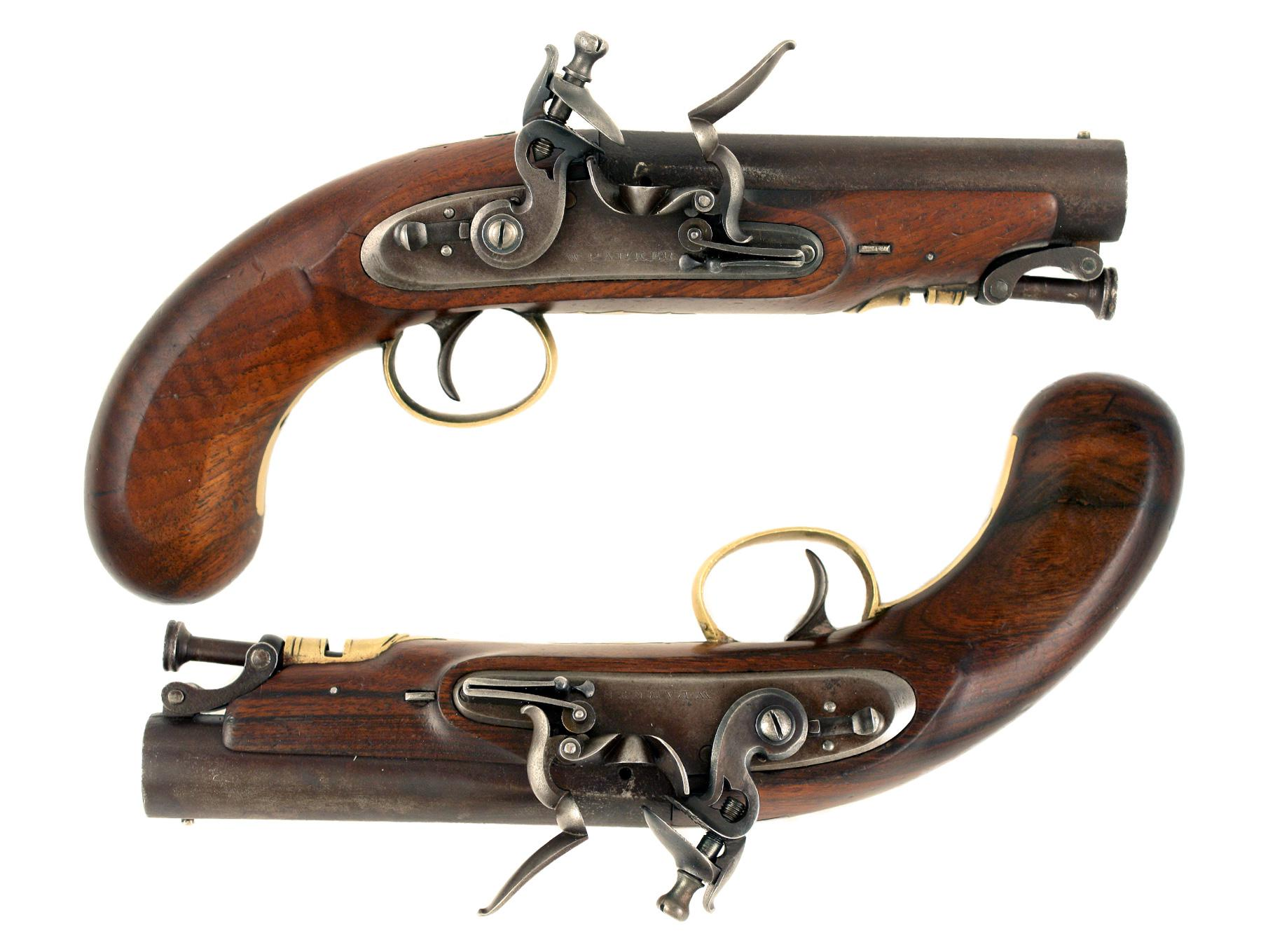 A Pair of Flintlock Pistols