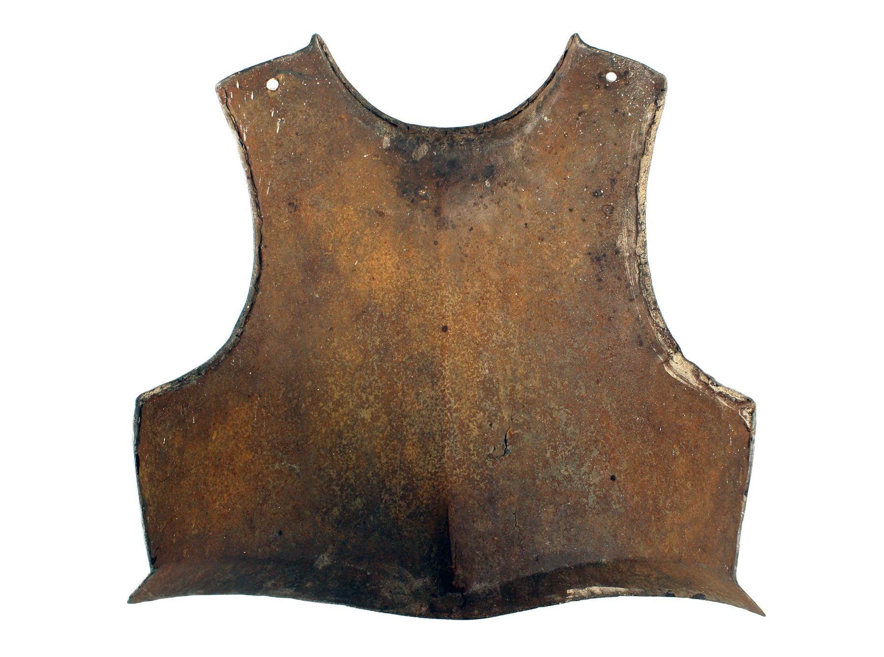 An English Breastplate, 17th Century
