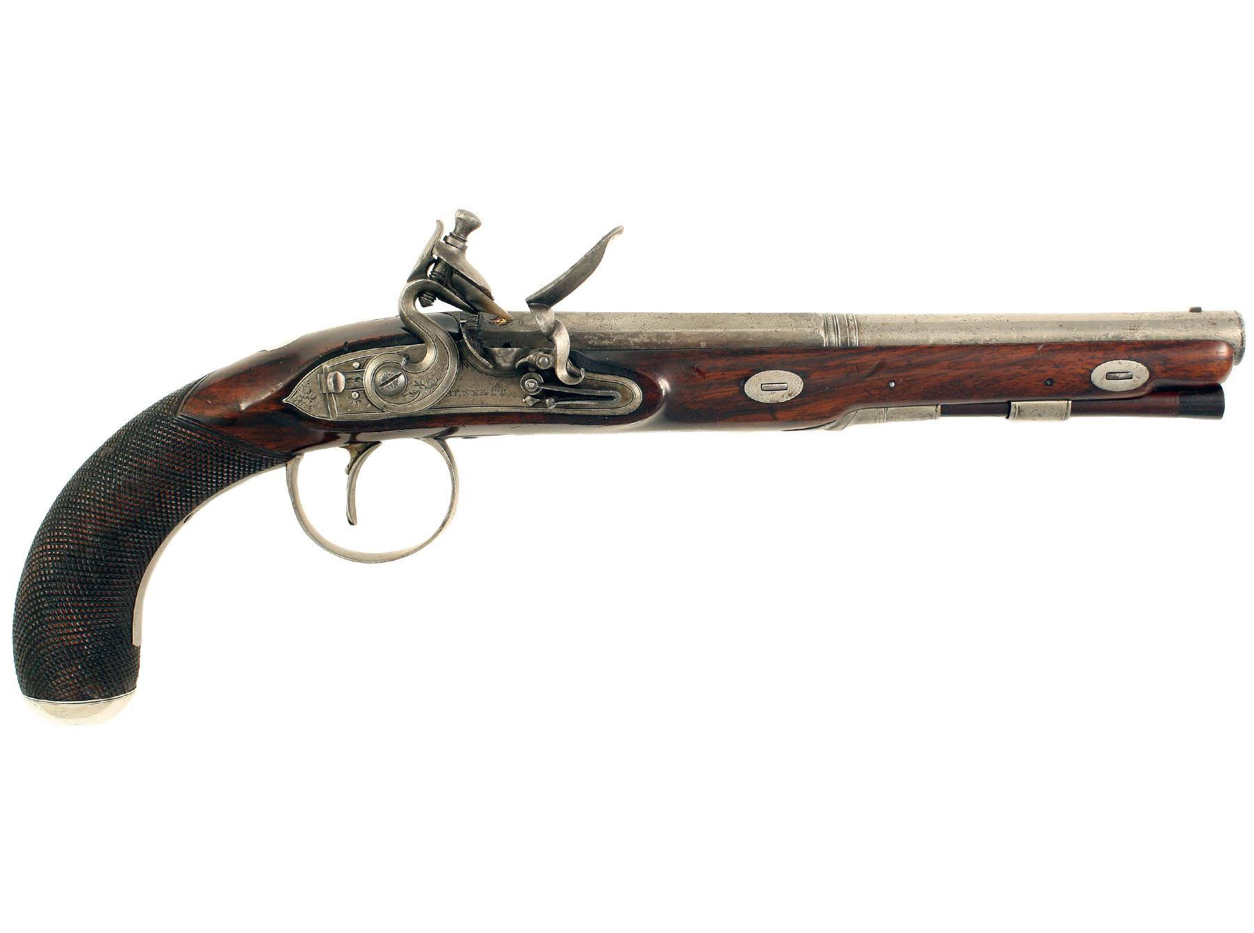 An Elegant Pistol by Bennet of London