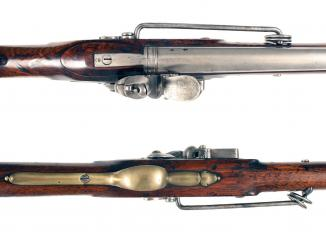 A Superb Flintlock Eliotts Carbine