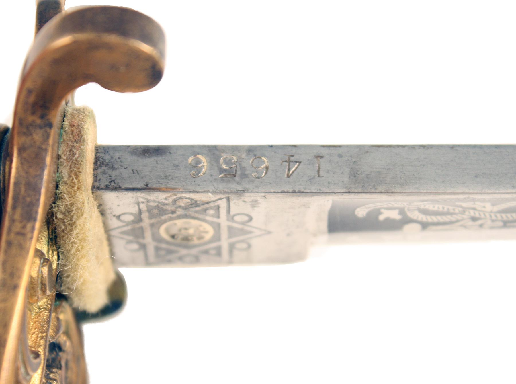 An 1827 Pattern Warrant Officers Sword