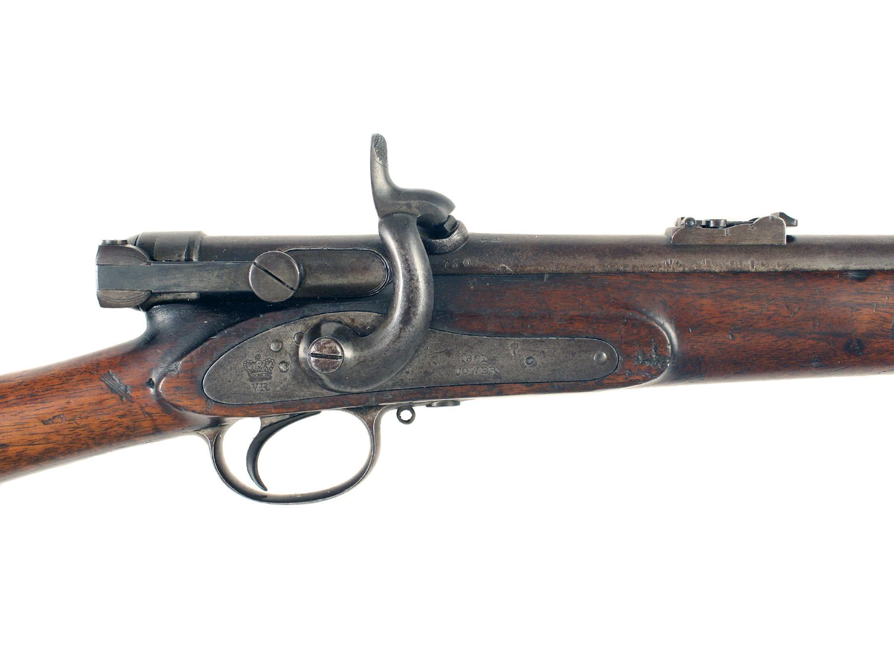 A Scarce Military Calisher & Terry Carbine