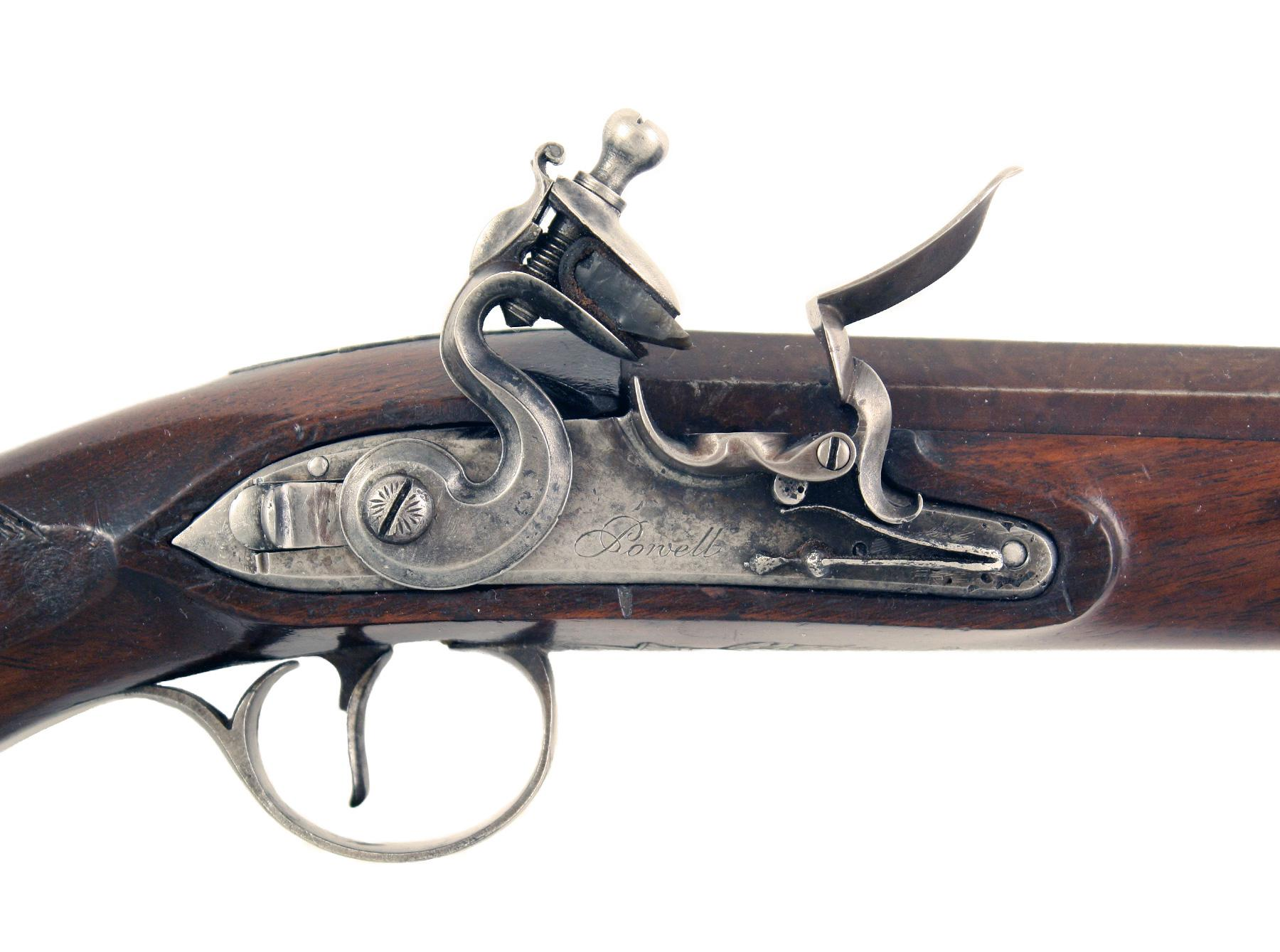 An Irish Duelling Pistol by Powell of Dublin
