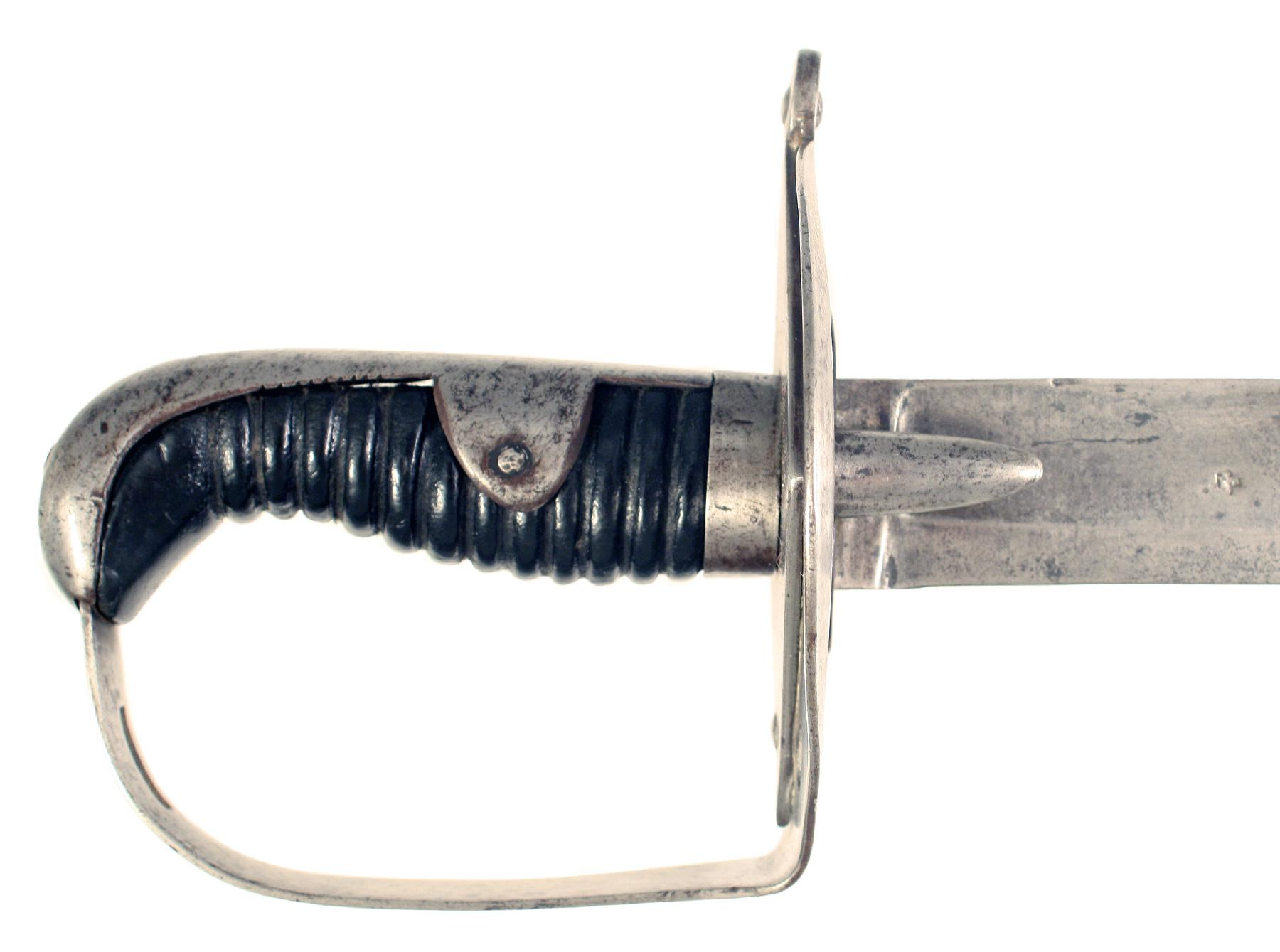A 1796 Heavy Cavalry Troopers Sword