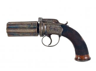 A Stunning Pepperbox by J. Lord