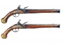 A Good Early Pair of Flintlock Pistols