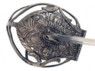 A Mortuary Sword, 17th Century.
