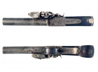 A Flintlock Pocket Pistol by Southall & Son