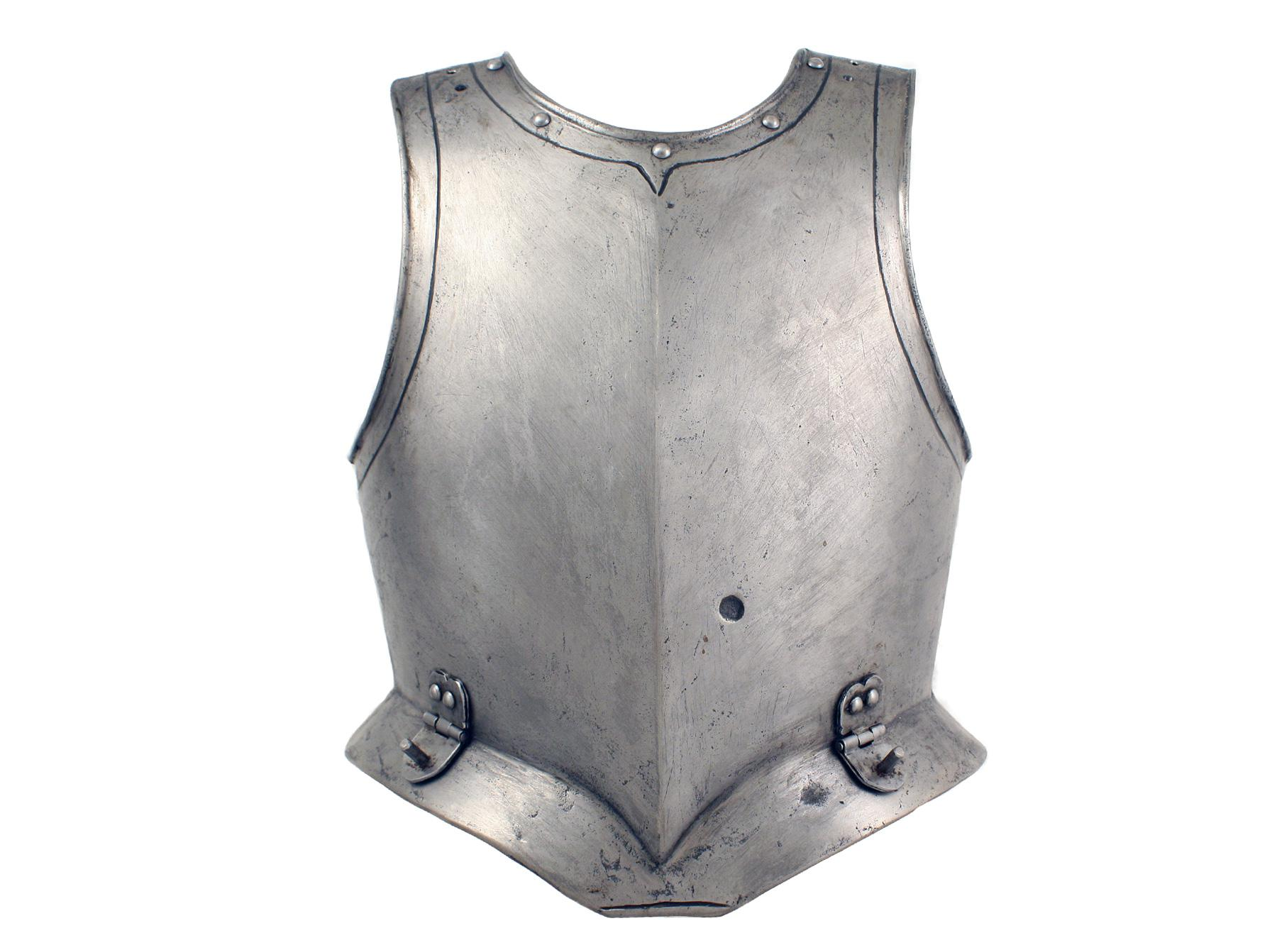 A German Cuirassiers Breastplate, Circa 1610.