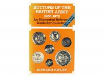 Buttons of the British Army 1855 to 1970