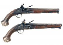 An Untouched Pair of Holster Pistols by Griffin