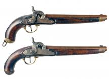 A Brace of Hanoverian Rifled Pistols