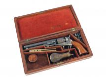 A Cased Colt Pocket Revolver
