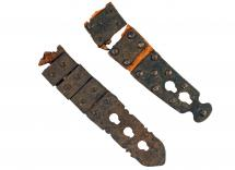 Buckles for a Harquebusiers Cuirass.