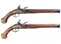 A Good Early Pair of Flintlock Pistols